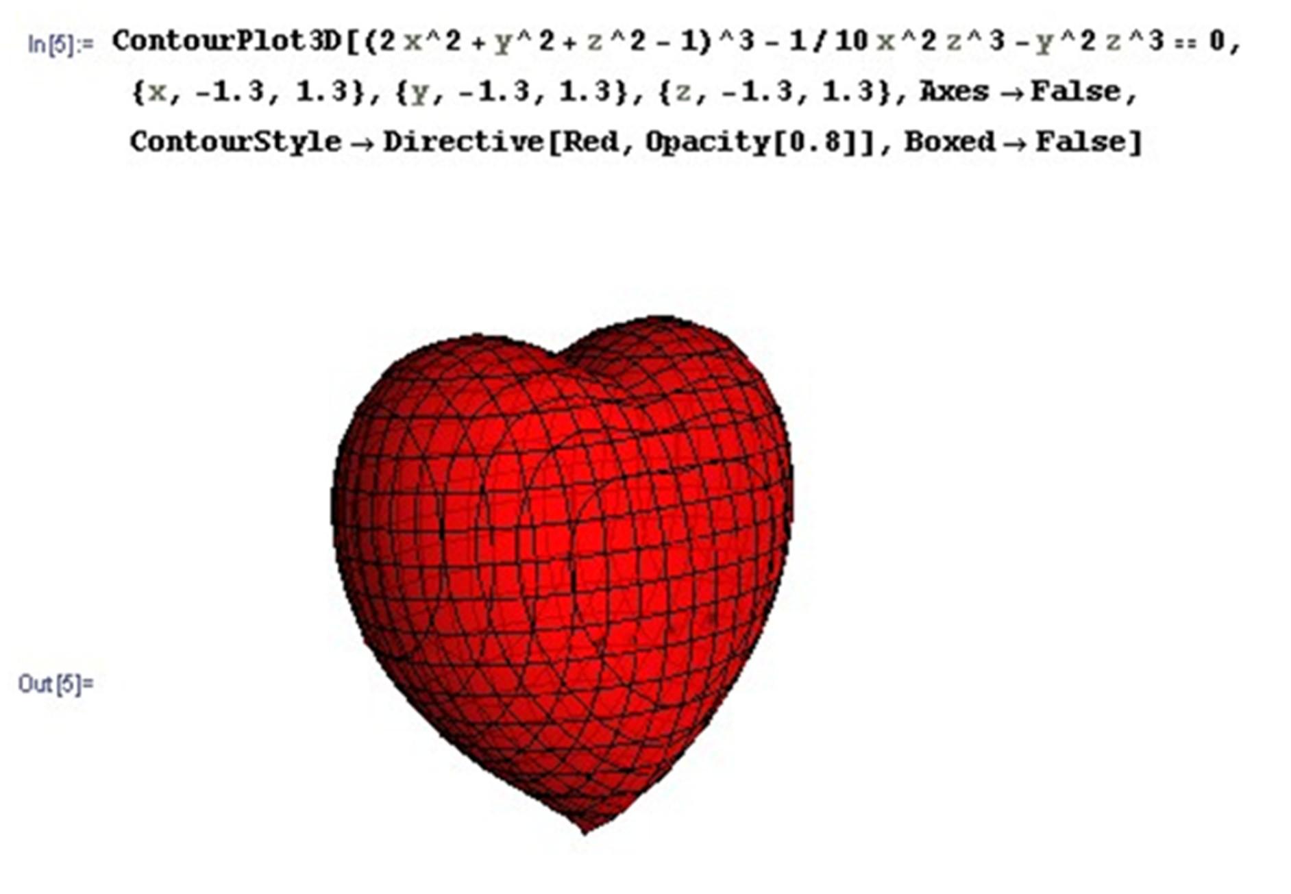matemáticas románticas